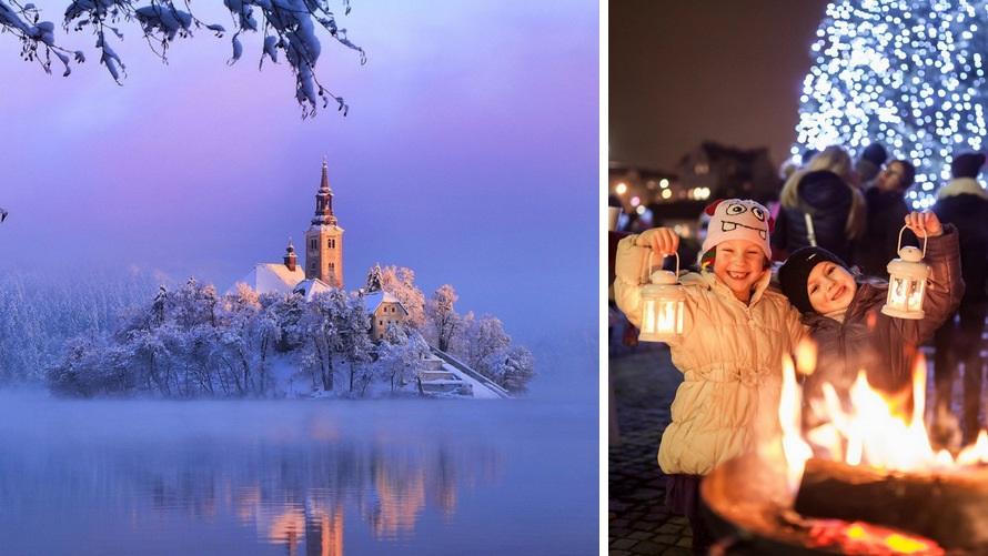 Eslovenia en invierno