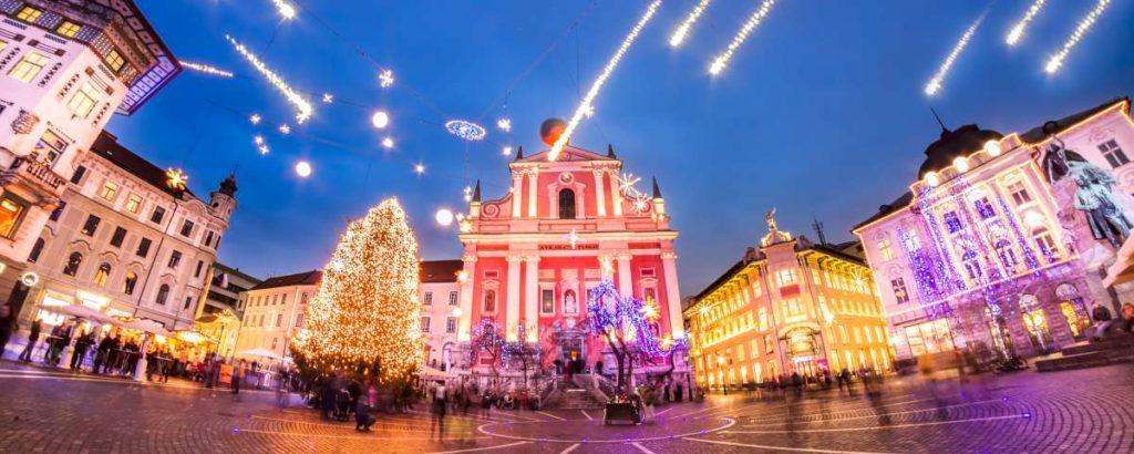 Eslovenia en invierno: Liubliana Ljubljana