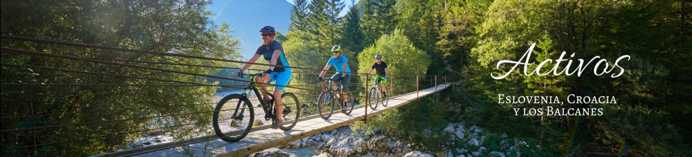 Viajes activos por Eslovenia