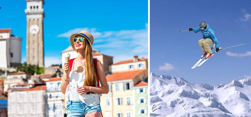 Consejos para viajar a Eslovenia - el clima