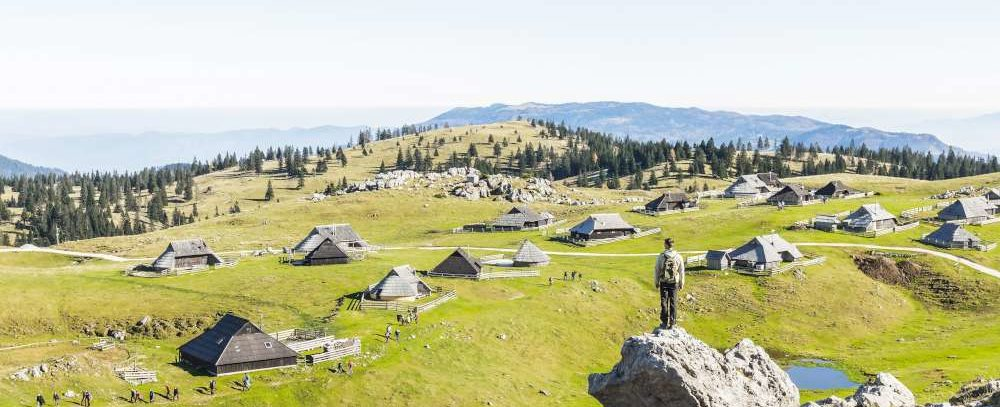 Vacaciones en las montañas - Velika planina, Eslovenia