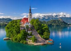 Isla de Bled, Eslovenia