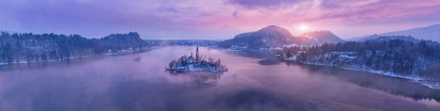 Christmas Trip to Bled