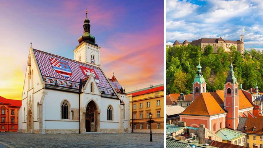 Itinerary for Croatia with Ljubljana