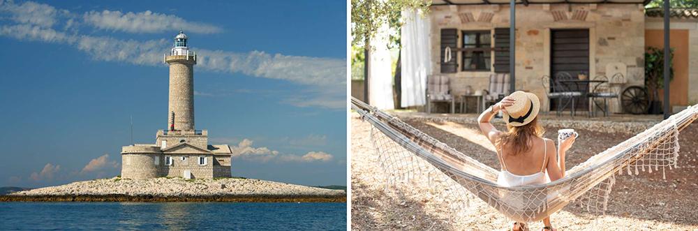 Luxo nas ilhas da Croácia