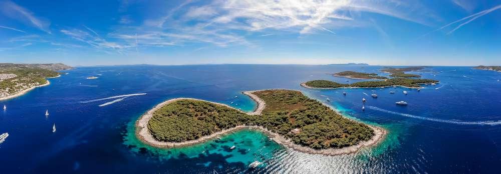Férias de luxo nas ilhas croatas