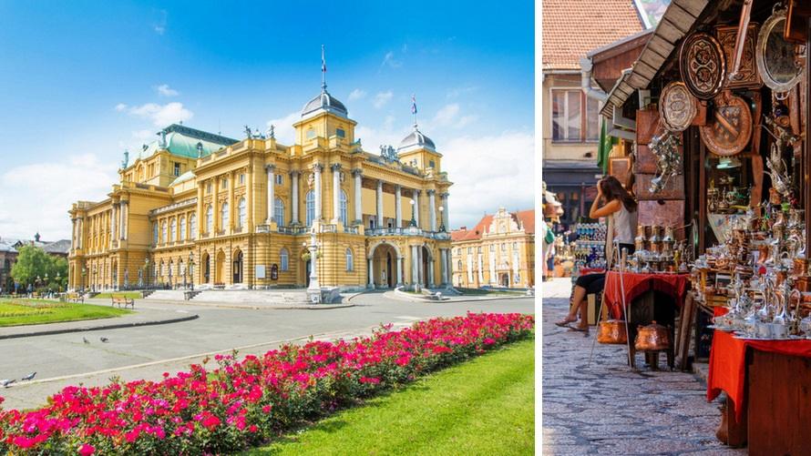 viaje por Croacia y Bosnia - Zagreb & Sarajevo