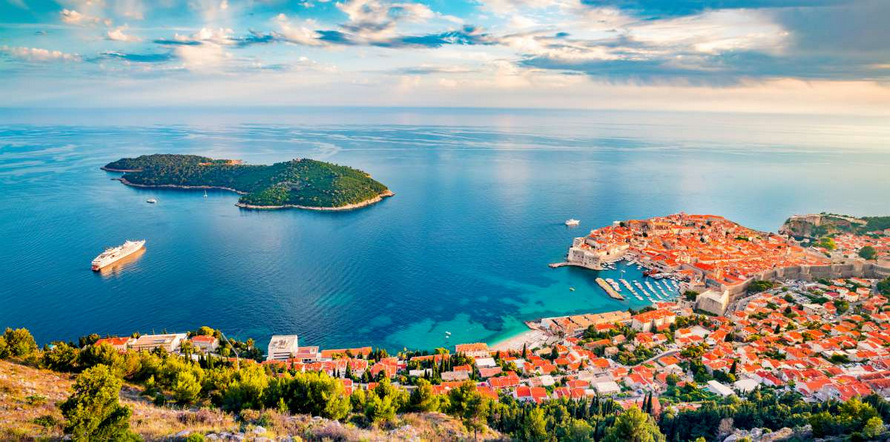 Navegando ilhas croatas de luxo