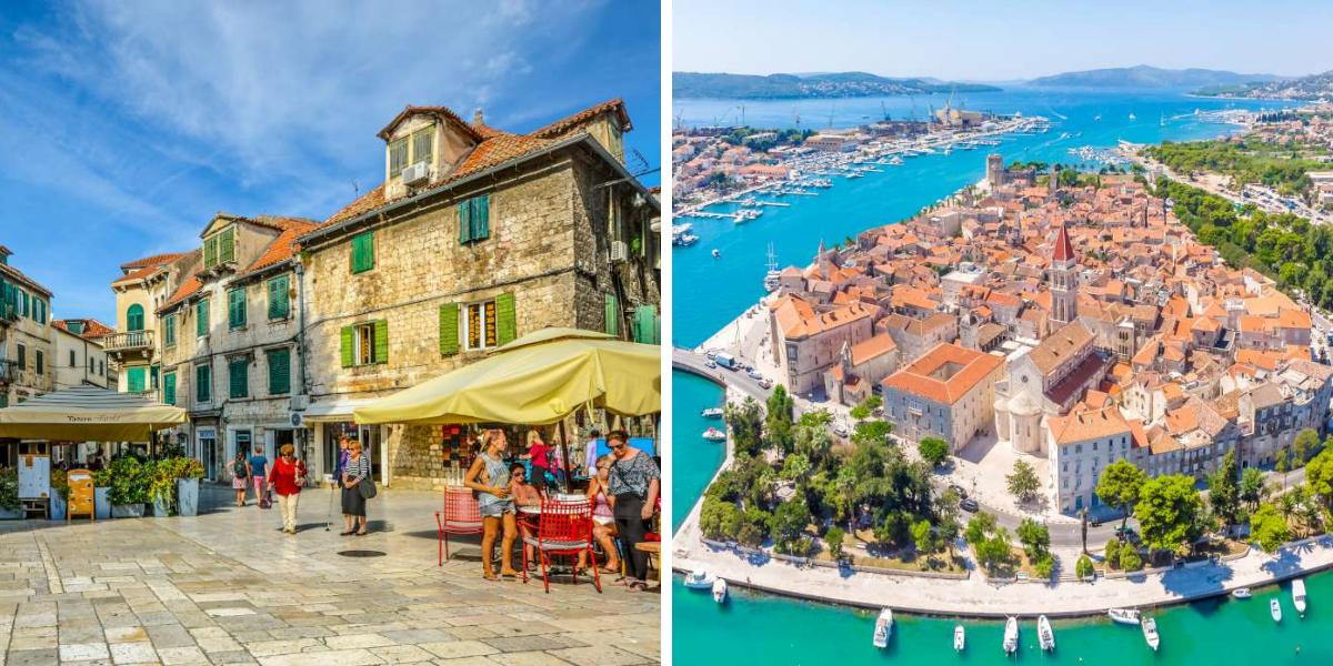 mejores hoteles en Croacia en Split y Trogir