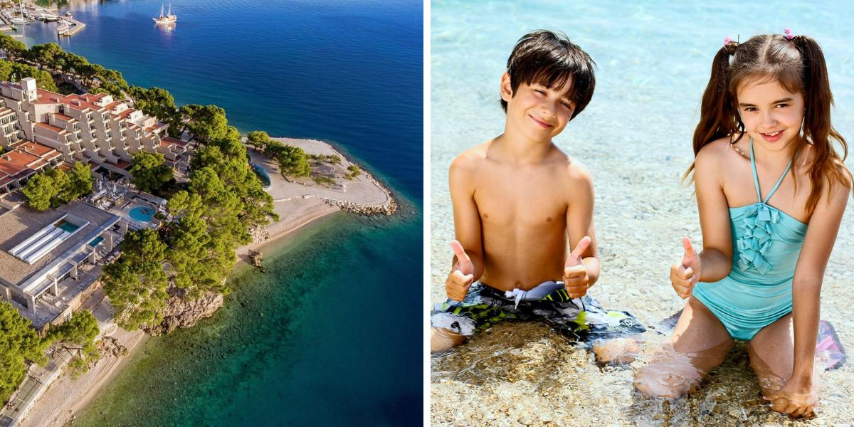 hotel Soline, entre los mejores hoteles en Croacia, a Croacia con niños