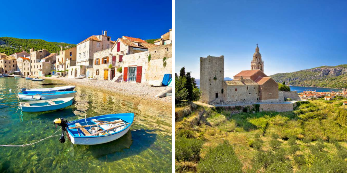 la isla Vis en Croacia