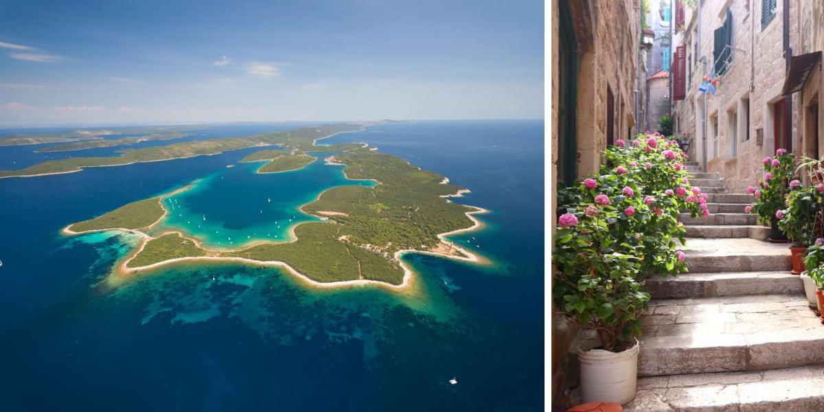 para visitar las mejores islas de Croacia visita Dugi otok y Korčula con Ekorna