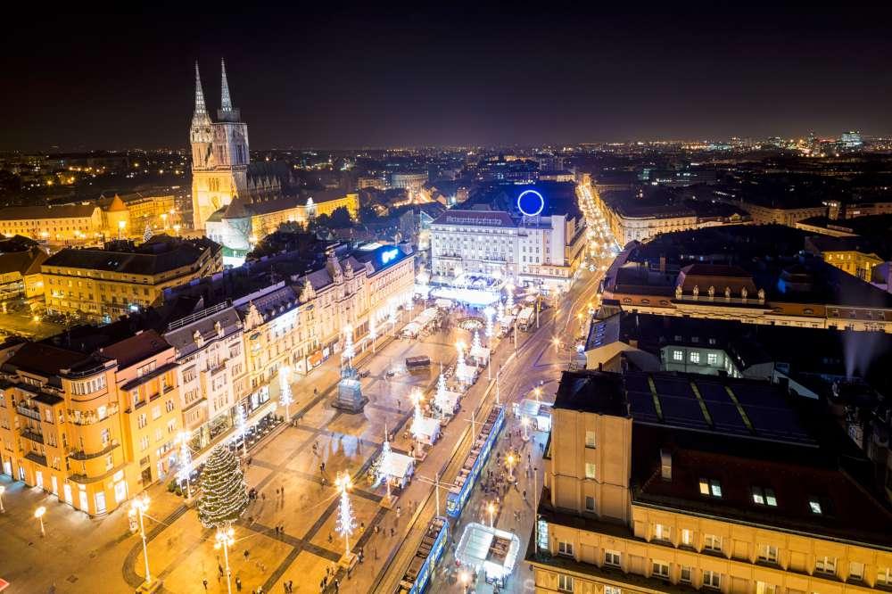 mercadillo navideño Zagreb