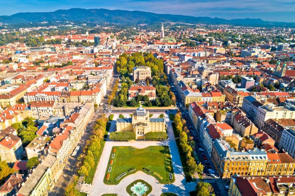 Zagreb Croacia con Ekorna