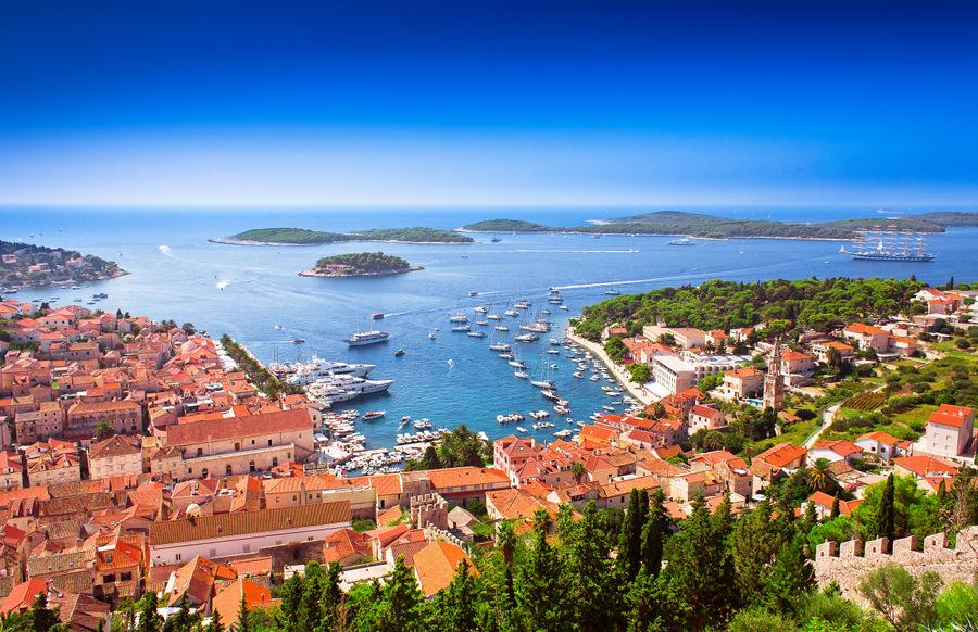 Hvar,una de las mejores islas de Croacia