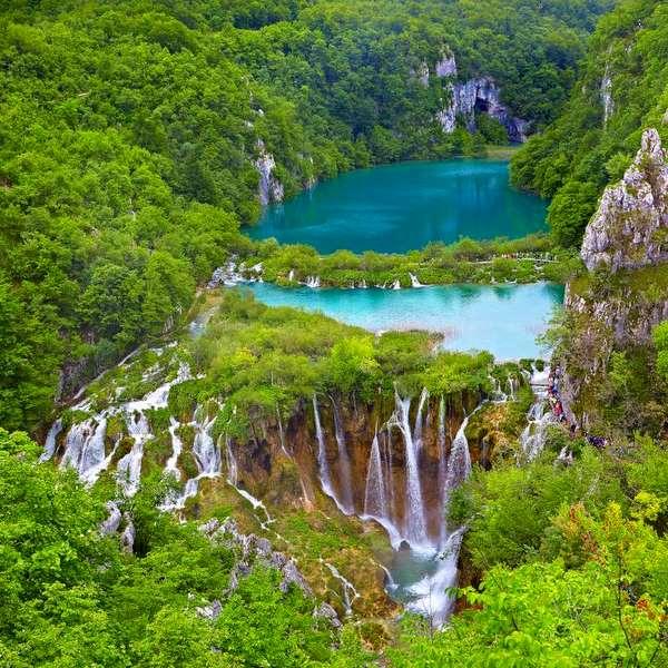Plitvice en Croacia