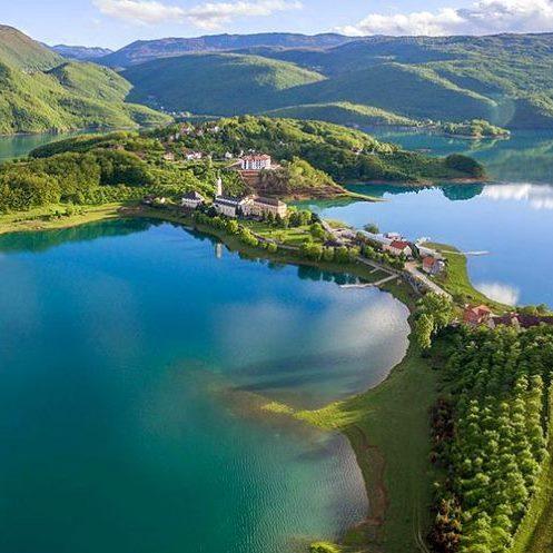 Lagos de los Balcanes-lago Rama