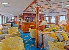 Barco de lujo greco - cubierta principal