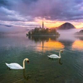 El Lago Bled en Eslovenia-entre los lagos mas bonitos