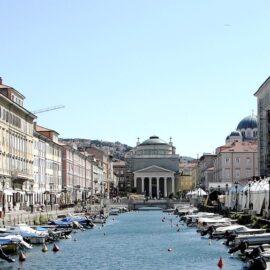 Que visitar en Trieste - el canal Ponte Rosso