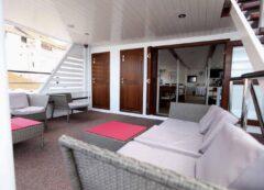 Barco de categoría estándar - cubierta principal