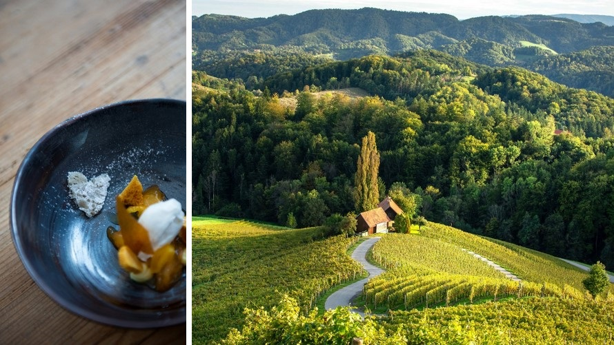 michelin star restaurants in slovenia - kungota