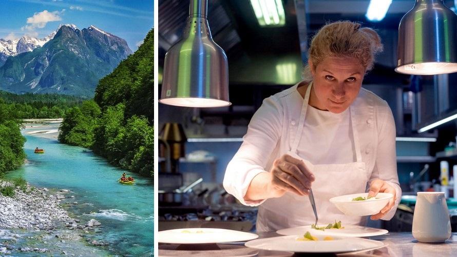 michelin star restaurants in slovenia - hiša franko