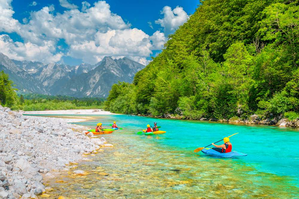 VIsit the Soča River in Slovenia on a private trip with Ekorna