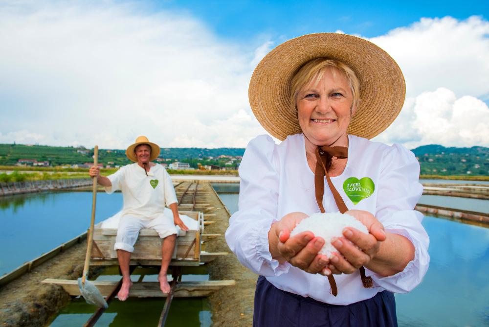 sea salt harvesting experience in Slovenia