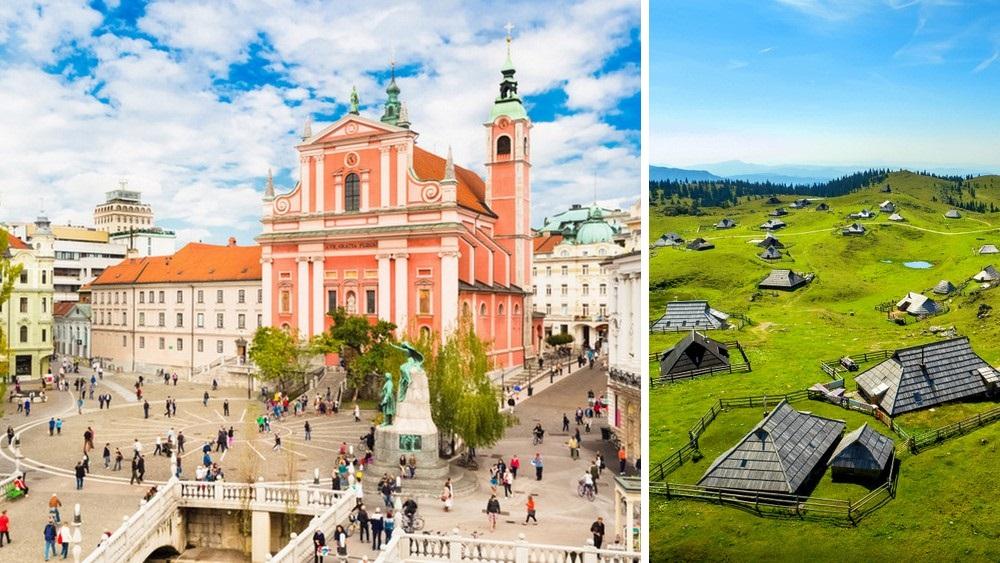 Destaques de Eslovenia