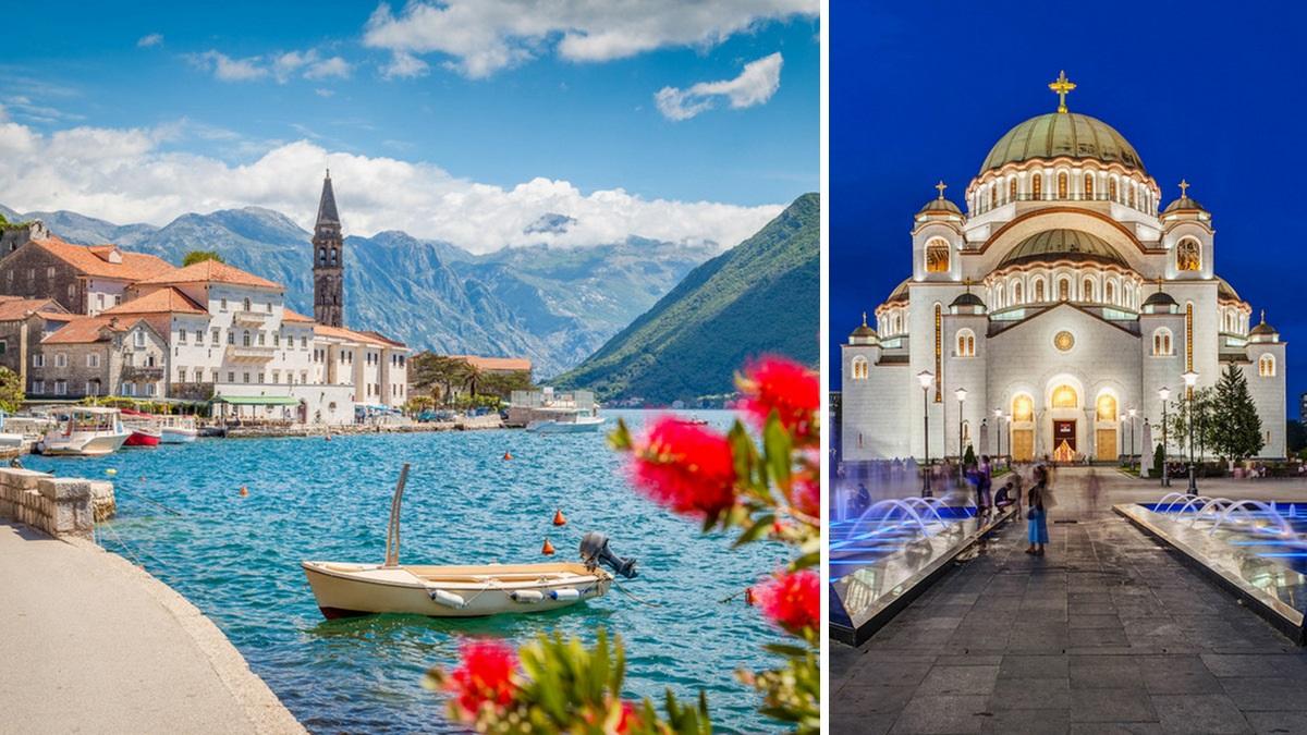 Montenegro y Serbia